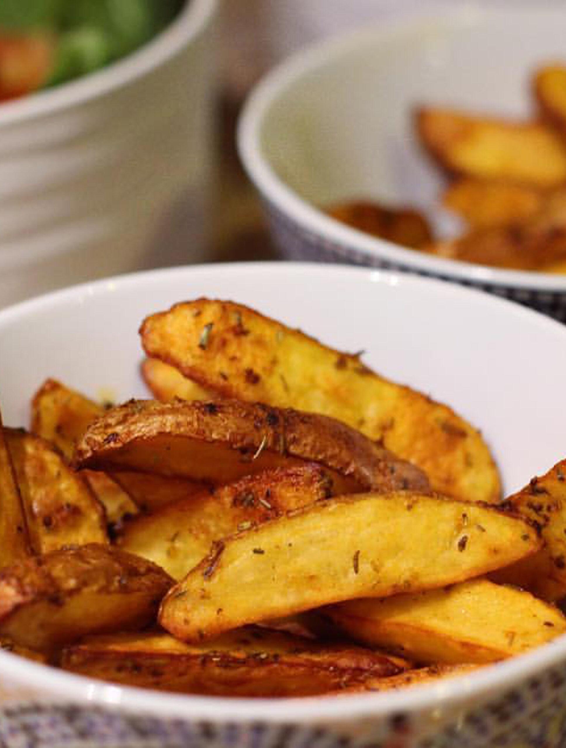 Potatoes maison au four