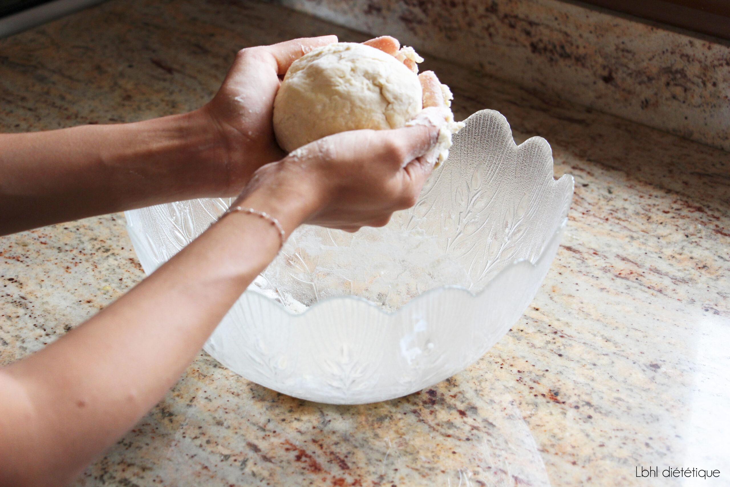 Pâte brisée sans beurre 2